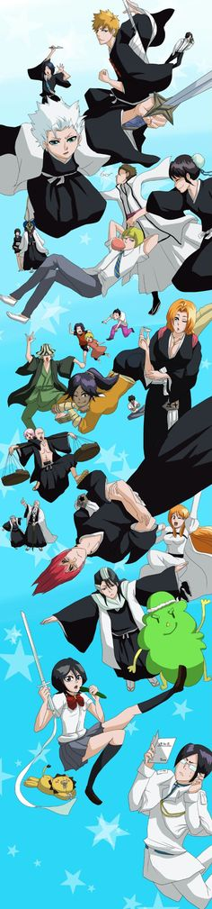 Bleach ~~ We all fell in love with these characters!