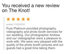 Pure Platinum Party provided our Award Winning Wedding Photography, Videography and Photo Booth services for Katie & Anthony's fairytale wedding at Green Tree Country Club in New Rochelle, NY. Thank you Katie & Anthony for the 5 star review! pureplatinumparty.com/testimonials/ #pureplatinumpartyphotobooth #pureplatinumpartvideography #pureplatinumpartyphotography #pureplatinumparty #celebration #theknot #bride #njgroom #nybride #njbride #wedding #weddingseason #weddinginspiration