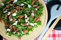 Quick: What's for dinner? Poach salmon to top @Mummys Fast and Easy Dried Figs, Pecans & Goat Cheese Kale Salad.