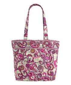 Look at this #zulilyfind! Paisley Meets Plaid Three-O Tote #zulilyfinds
