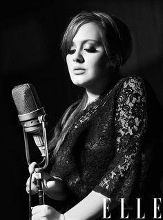 Adele é capa da Elle americana