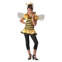 Honey Bee Halloween Costume for Teen Girls - Large