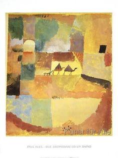 Paul Klee - Due Dromedari ed un Asino