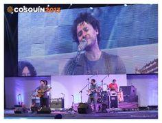 Ni la lluvia detuvo el festival de Cosquín 2013
