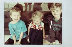 I have three lovely children born the 05/2005, 07/2007 and 09/2009. What can I say? I am organised (and quite lucky!).