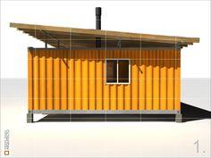 | Casa container |, Esquel, 2009 - Fernando Velasco
