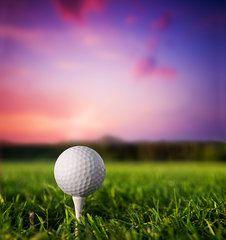 Sports Art - Golf ba