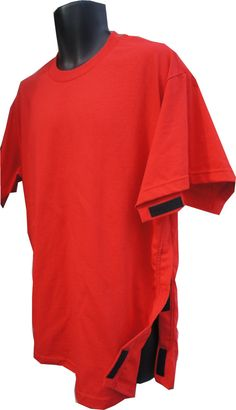 SIDE OPEN S /S T Shirt Adaptive / post surgery by DressWithEase, $34.00