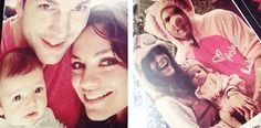 Mila Kunis and Ashton Kutcher's Baby Is Adorable in First Family Photos