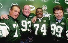 Women's New York Jets Joe Klecko Green Retired Player Jersey