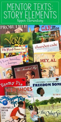 If you are looking for story elements mentor texts or read alouds for teaching story elements, definitely check out this post. The teacher shares 15 read alouds with brief summaries and the specific story element skills each read aloud addresses. Reading Lessons, Reading Skills, Reading Groups, Teaching Reading Strategies, Writing Strategies, Reading Resources, Math Lessons, Teacher Resources, Teaching Plot