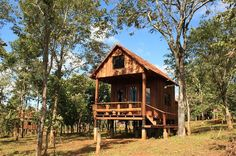 Unusual accommodations in Cambodia #treehouse #amazing #lodge   See more at www.glampinghub.com
