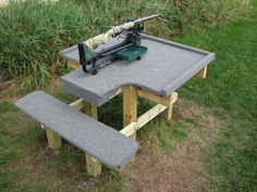 17 best shooting bench images shooting bench plans shooting table rh pinterest com