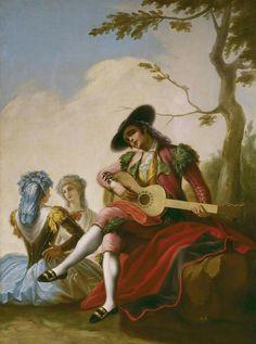 El Majo with the guitar