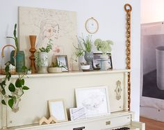 Painted piano... YAS!   Designer Spotlight  – Emily Katz