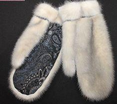 Меховые перчатки и варежки (подборка) / Перчатки и варежки / ВТОРАЯ УЛИЦА