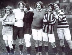 Futbolistas hace unas cuantas décadas