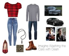 A fashion look from December 2017 featuring crop tops, distressed skinny jeans and Mix No. Browse and shop related looks. Supernatural Fanfiction, Funny Supernatural Memes, Supernatural Imagines, Supernatural Fandom, Engagement Photo Outfits, Engagement Photos, Supernatural Inspired Outfits, Cute Emo Outfits, Character Inspired Outfits