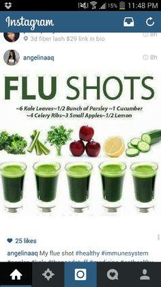 Au natural flue shots