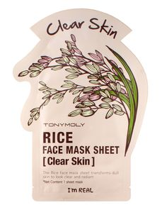 TONYMOLY I'm Real Masks. My favorite sheet masks! Try de Rice one, is amazing. But actually, try them all! They are all pretty life changing.