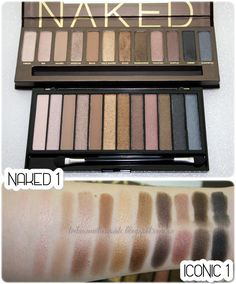 **Trihias Make Up Site**: #346 ★ ¡ALERTA CLON! | URBAN DECAY Naked vs MAKEUP REVOLUTION Iconic ★