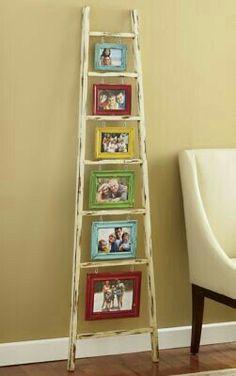 Escada velha - nova utilidade