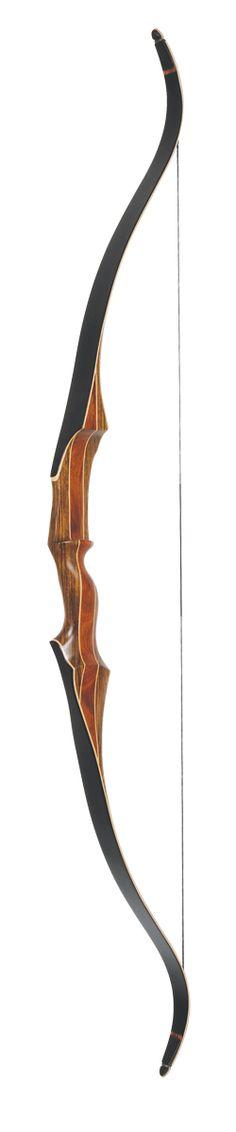 martin recurve hunter model in brown.