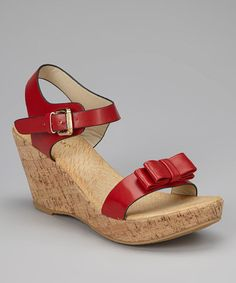8c129dc1e72 Bamboo Red Conner 03 Wedge Sandal