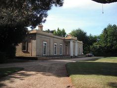 Panshanger, Longford, Tasmania. Built in the 1830s in the Greek Revival style, Panshanger is one of the finest early colonial homes in Australia.