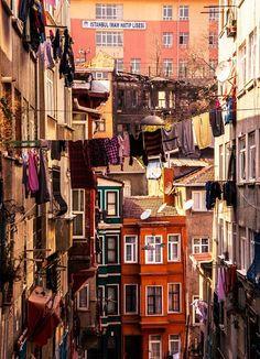 Balat, Turkey - the traditional Jewish quarter in the Fatih district of Istanbul.