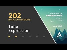 After Effects Expressions 202 - Time Expression - YouTube