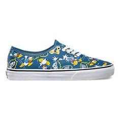 Donald Duck Disney Vans