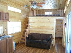 12X32 Deluxe Lofted Cabin Premier Portable Building I ...