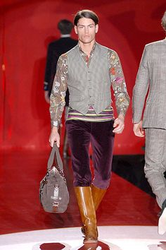 Etro Fall 2006 Menswear Collection Slideshow on Style.com
