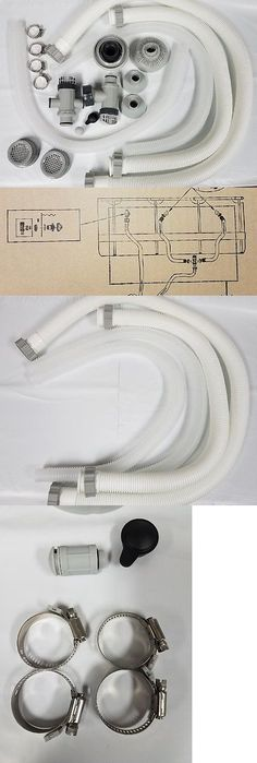 Pool Equipment Parts and Accs 181070: Intex Pool Accessory Kit With Pump Hoses, Plunger Valves, Jet Nozzle And Small S -> BUY IT NOW ONLY: $99.95 on eBay!