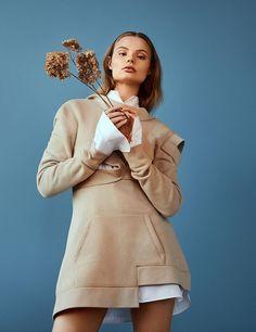 Harper's Bazaar Korea March 2017 Magdalena Frackowiak by Olivia Malone
