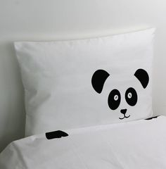 Panda Pillowcase