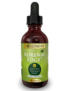 Adrenal Edge™ - Adrenal Fatigue Support Supplement – Go Nutrients