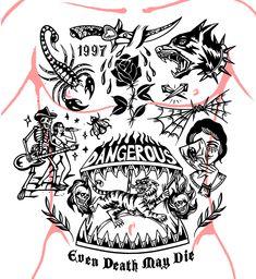 Dream Tattoos, Mini Tattoos, Black Tattoos, Cool Tattoos, Tattoo Sketches, Tattoo Drawings, Russian Prison Tattoos, Traditional Black Tattoo, Doodle Diary
