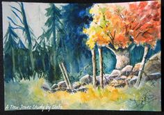 """A Tom Jones Study by Dabs - """"Old Stone Wall"""" #1"""