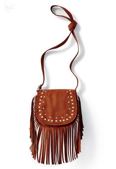 23de6c16e7d For a hint of western charm, add a fringe crossbody bag! Bags For Teens