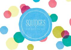 Supafrank | Playful design that works. Squidges bakery logo. Full project to share soon.