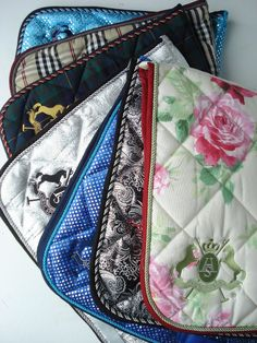 Pretty Saddle Pads by royal horse outlet.