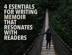 How do you tell a story that's compelling to you in a way that connects with your readers? Here's how to build a bridge between your experiences and theirs.