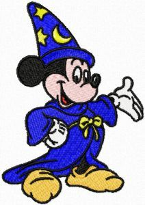 Mickey Mouse Fantasia 2. Also a link to free designs