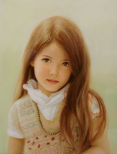 "Award Winning Oil Painting - ""Innocence"" by Ed Copley - Oil on Linen"