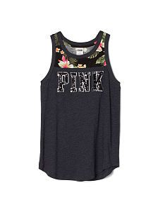 This season's latest women's tees are now at Victoria's Secret! Shop must have women's tank tops, tees and other PINK tops and get the latest styles in a variety of colors.