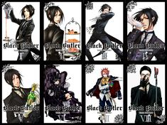 black butler many butlers - Google Search