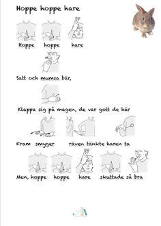 Hoppe hoppe hare   Tecken som stöd   Bloglovin'