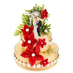 Anleitung: Styropor-Torte mit Schokoriegeln | Ideen mit Herz Karin Jittenmeier, Gift Baskets, Snow Globes, Mon Cheri, Cake, Desserts, Gifts, Food, Hearts